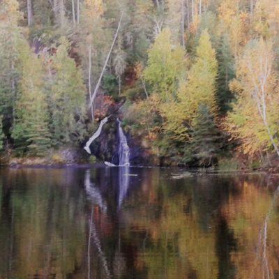 Twin Falls on Ash River